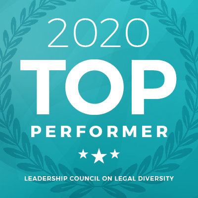 Leadership Council on Legal Diversity Recognizes Lane Powell as 2020 'Top Performer' Spotlight Photo