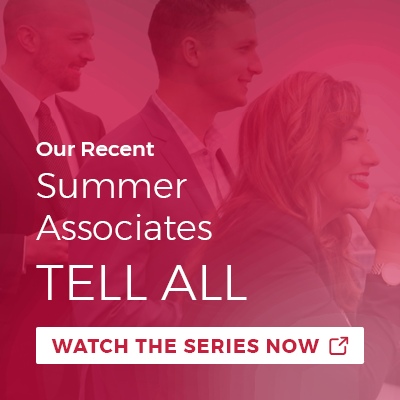 Our Recent Summer Associates Tell All