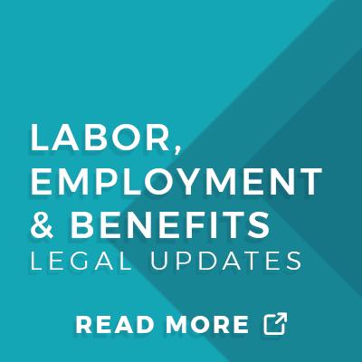 Labor, Employment & Benefits Law Attorneys in Washington