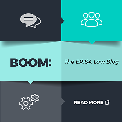 Boom: The ERISA Law Blog