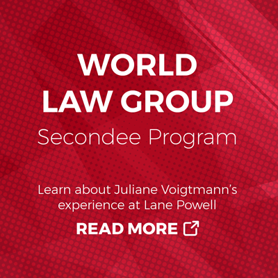 World Law Group Secondee Program